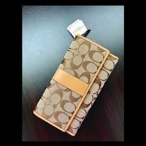 Coach Signature C Wallet
